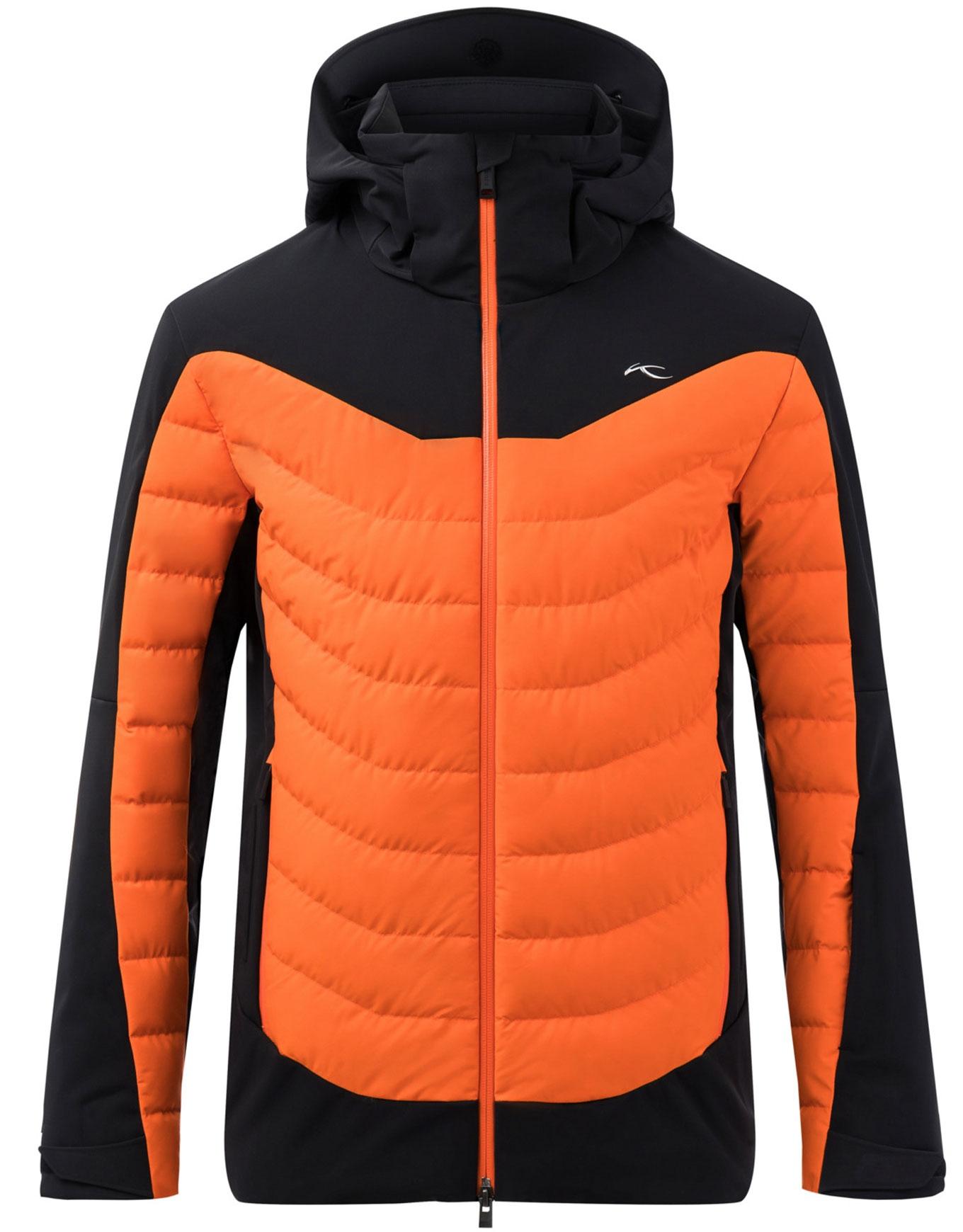 Men Sight Line Jacket BlackKjus Orange
