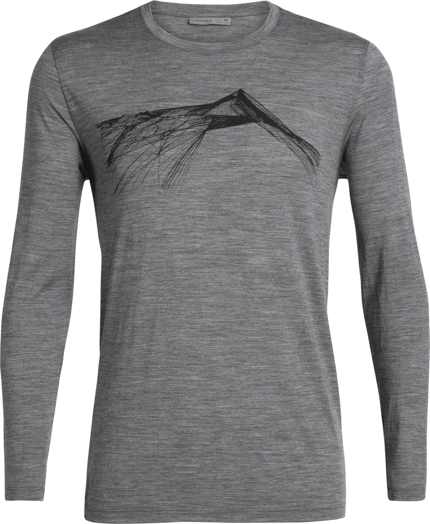 shirt hommes 150g//m² ICEBREAKER-tech Lite short manche Crewe fin pics