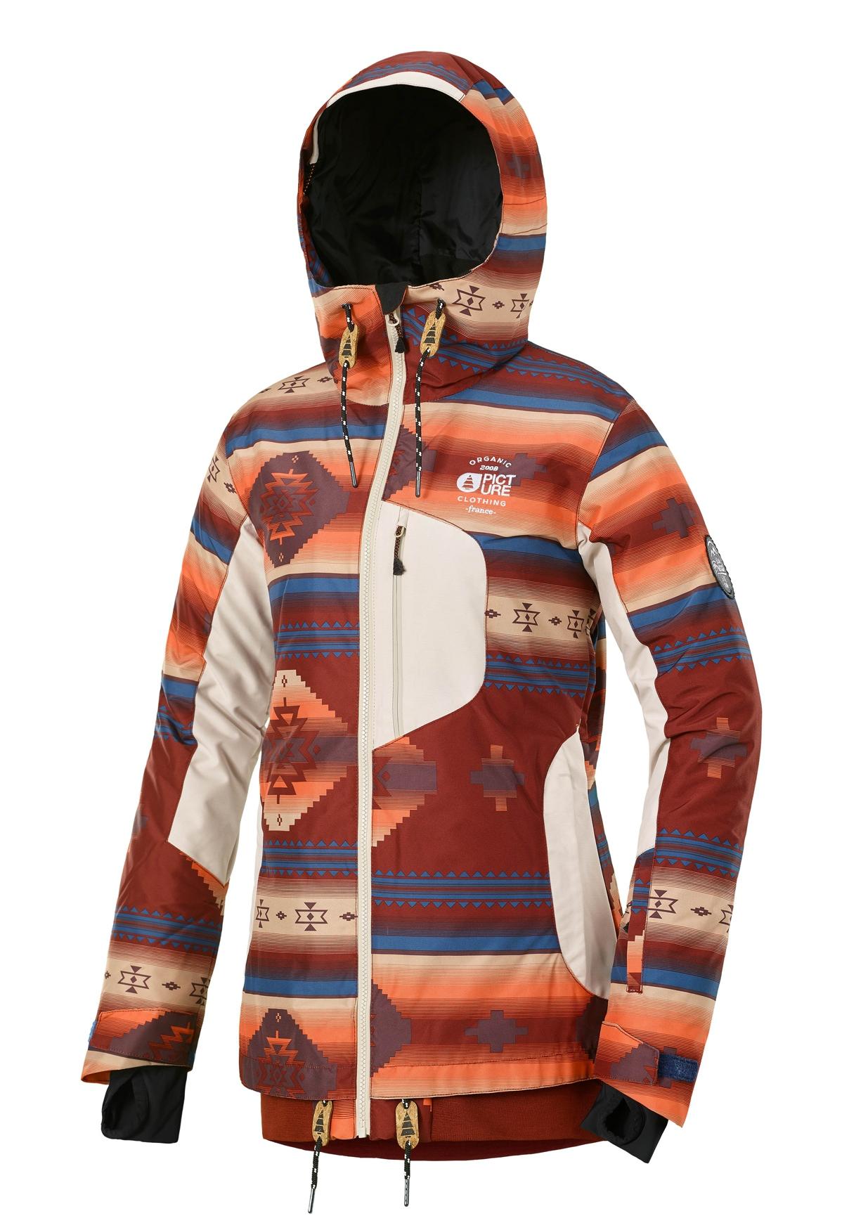 Milk Print Picture Clothing Ski Vestes Jkt Organic Snowleader Navajo qppOW6wC