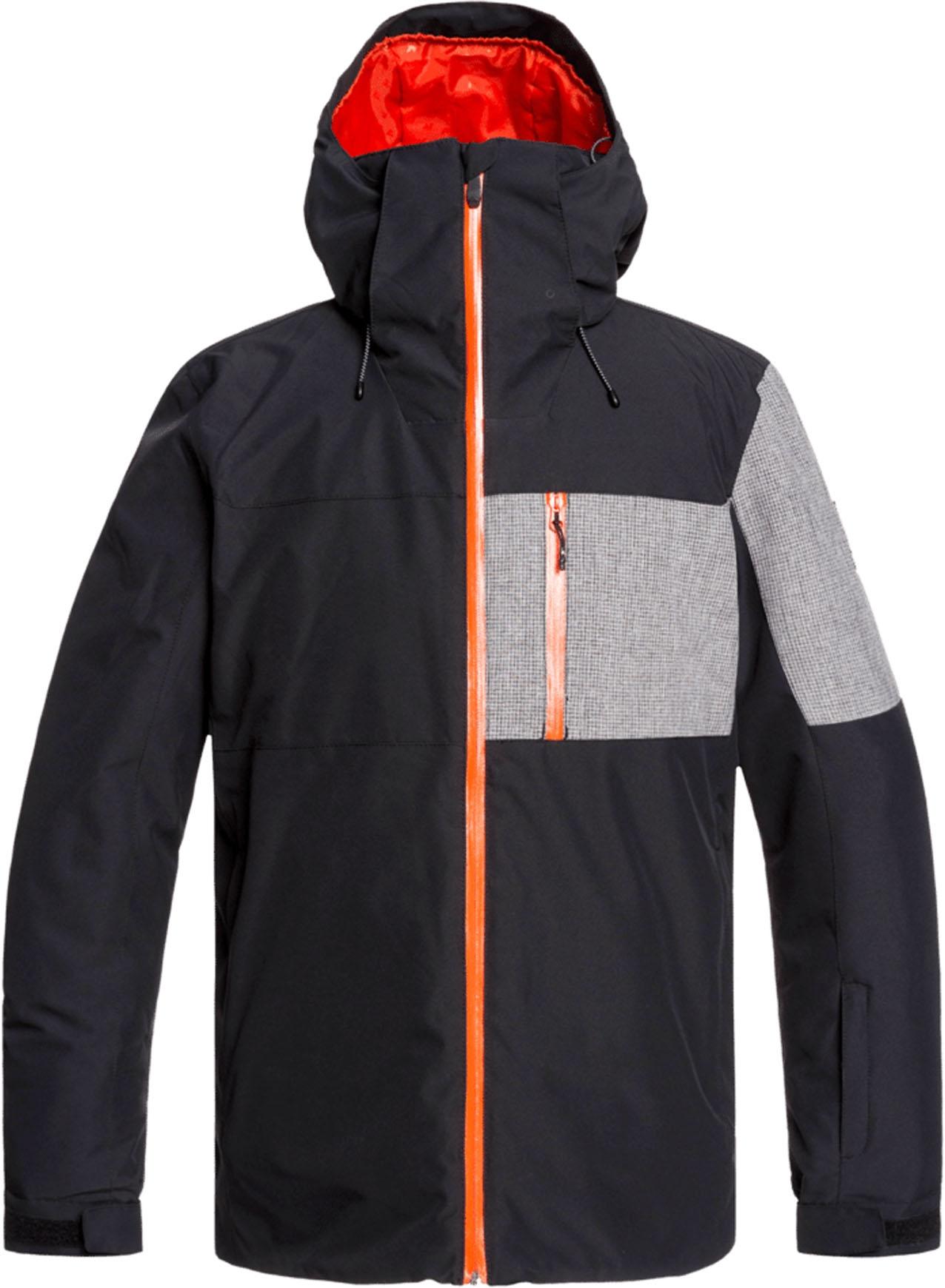 Quiksilver Anniversary Jacket Black : Skijacken : Snowleader