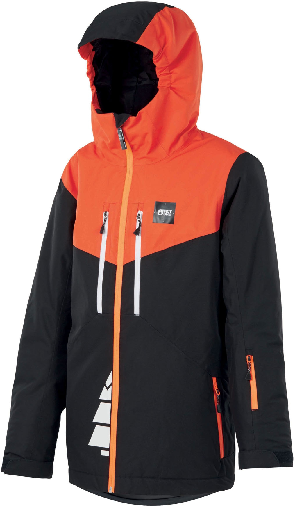 S 8 THE NORTH FACE YOUTH BOYS MILO DOWN INSULATED WINTER JACKET BLACK