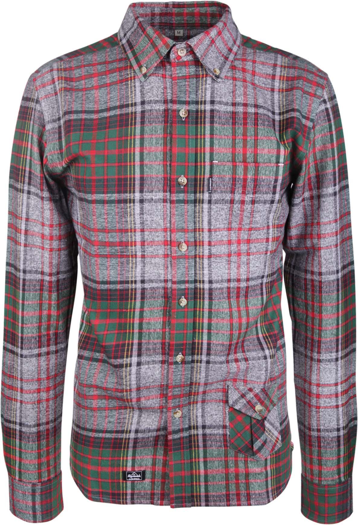 Murer Mage Shirt GreyRedGreen Check