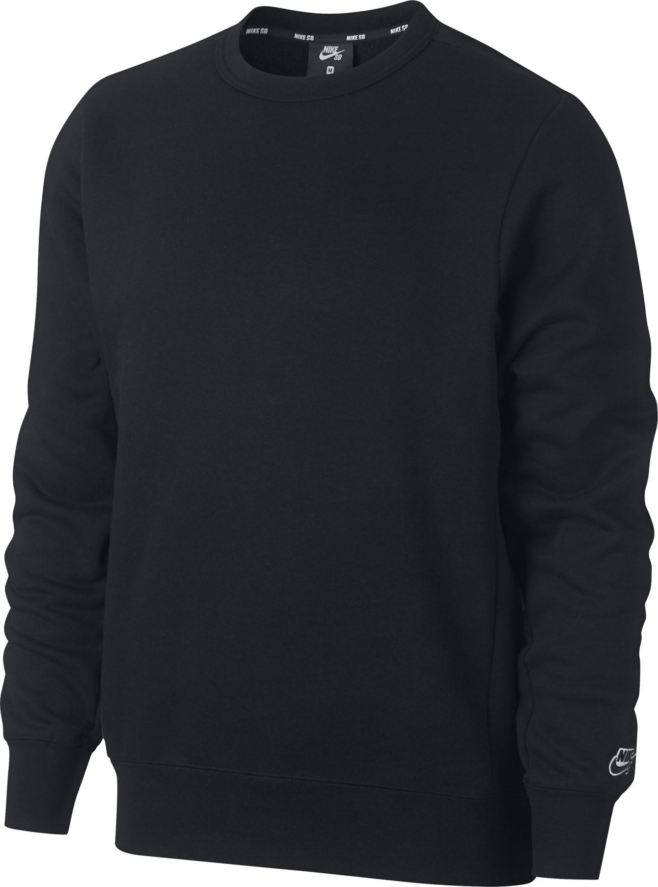Nike SB Icon Crew Fleece Essential BlackBlack