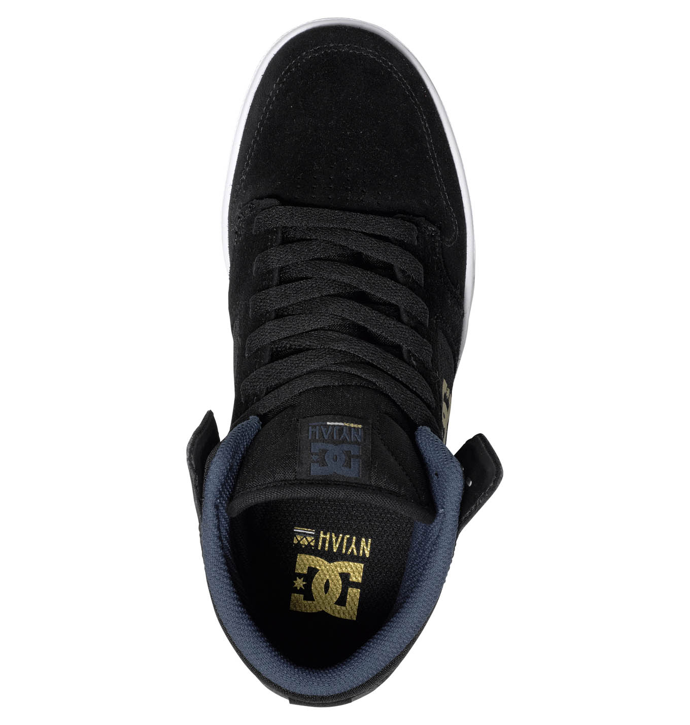 1c42a19cd9cf30 Nyjah High SE W Black DC Shoes   Baskets - Sneakers   Snowleader