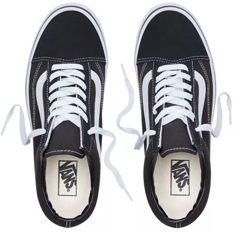 Old Skool BlackWhite Vans : Baskets Sneakers : Snowleader