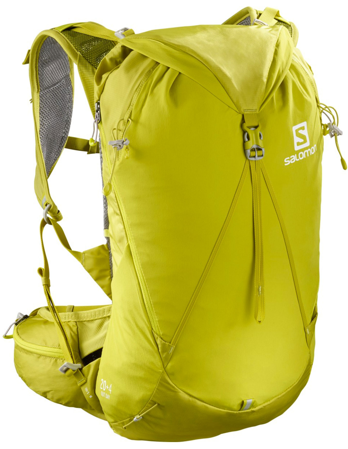 Salomon Out Day 20+4 Backpack citronellesulphur spring