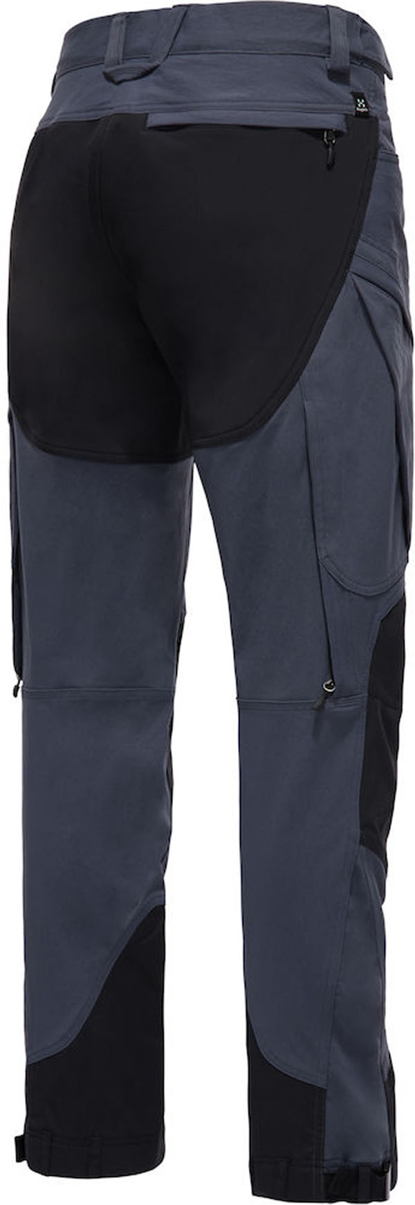 Haglofs Rugged Mountain Pant Men Dense Blue True Black Walking Pants Trousers Snowleader