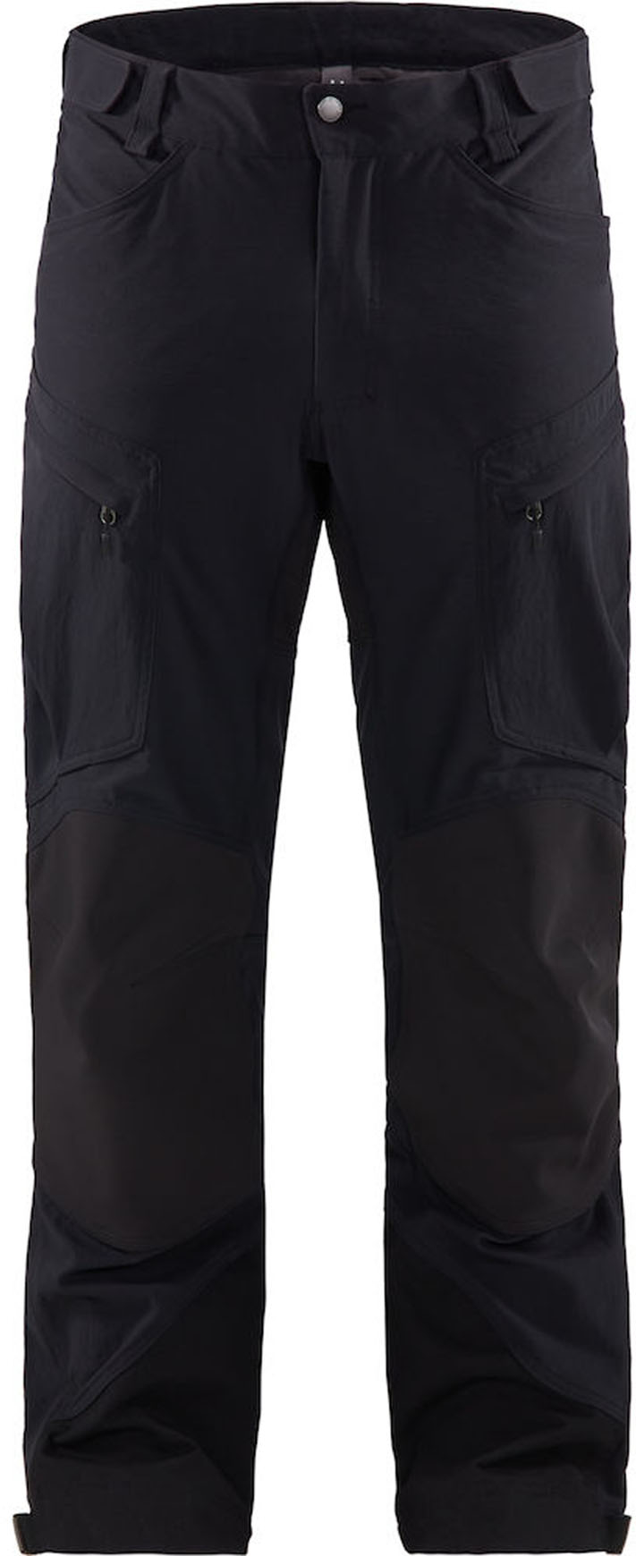 Haglofs Rugged Mountain Pant Men True Black Solid Mountaineering Pants Trousers Snowleader