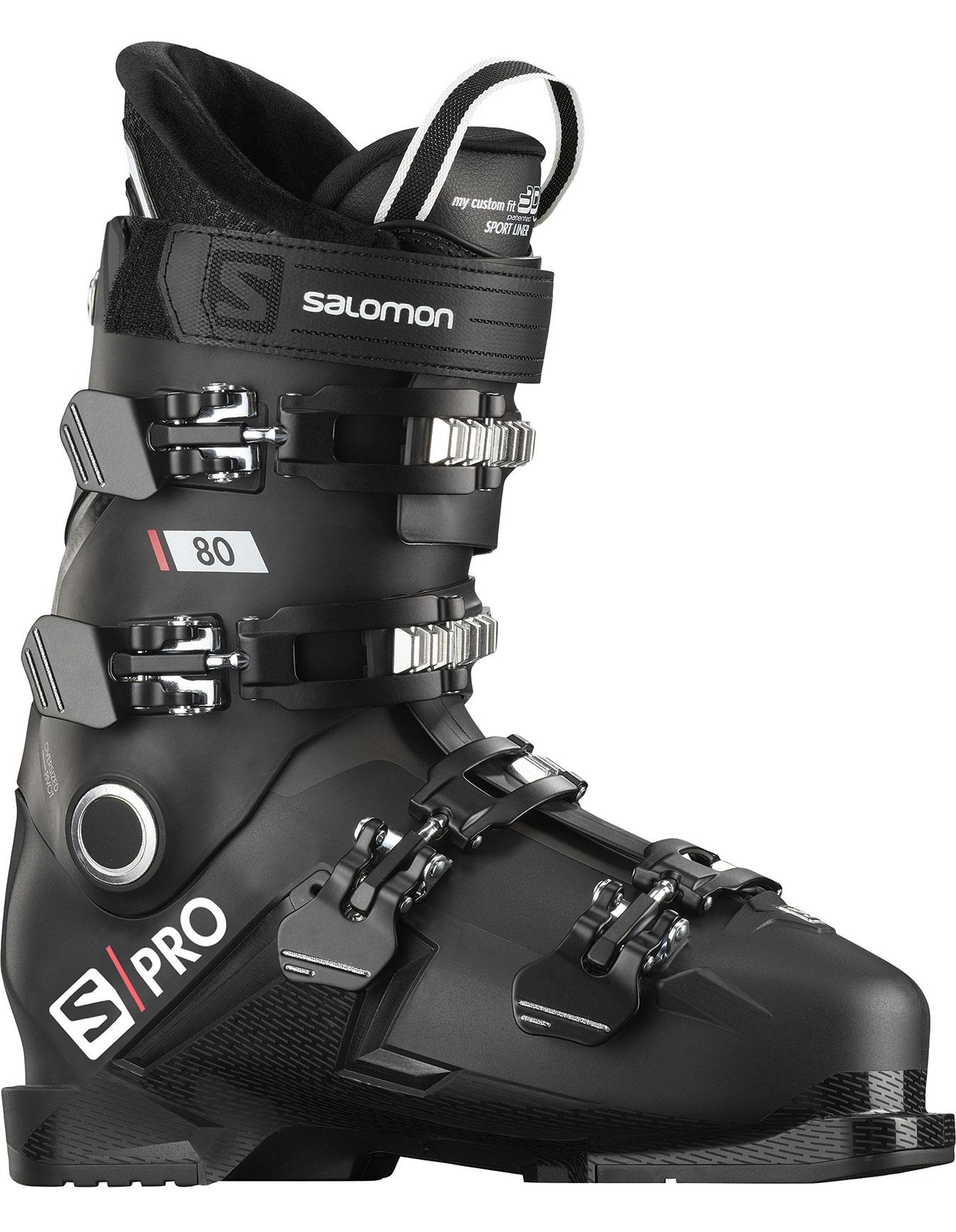 Chaussure de ski Salomon QST Pro 100 Black Anthracite Acide