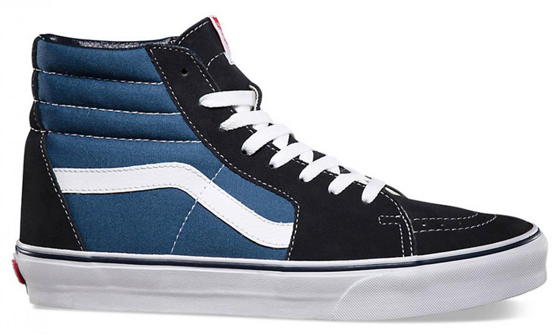 b8da241e19 Sk8-Hi Navy Vans   Baskets - Sneakers   Snowleader