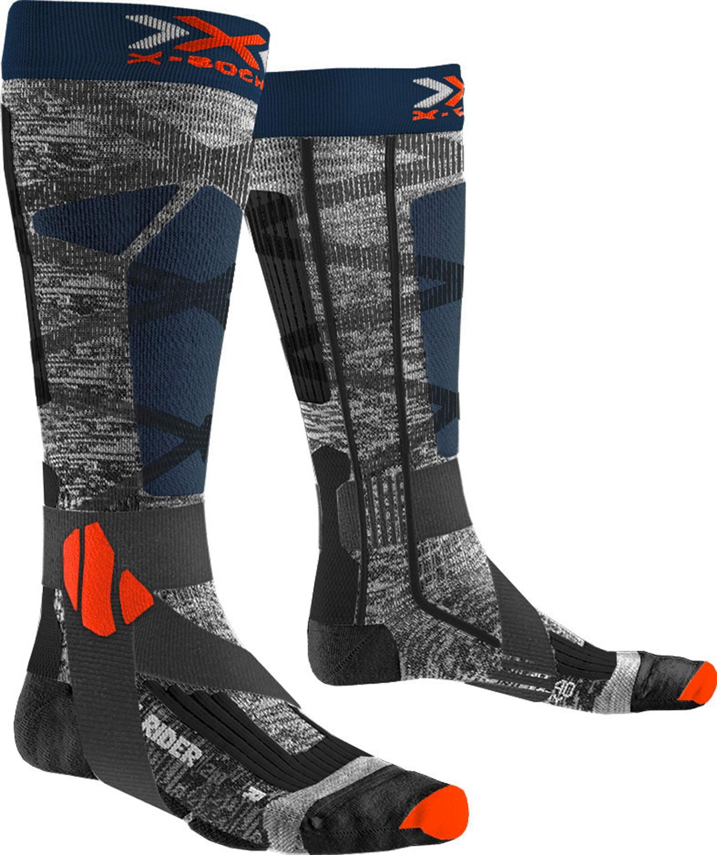 X-SOCKS Chaussettes Ski Energizer Light 4.0 Homme