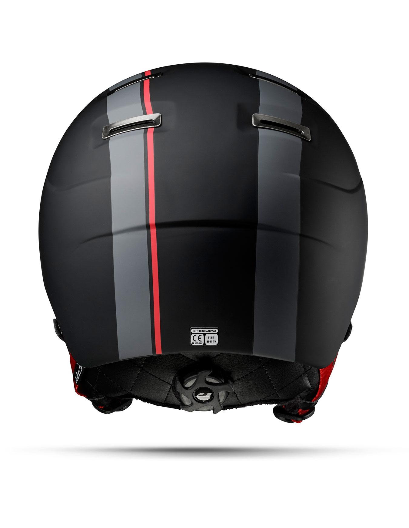 cd8df44697 Sphere Noir Rouge Zebra Red Light Julbo   Casques homme   Snowleader