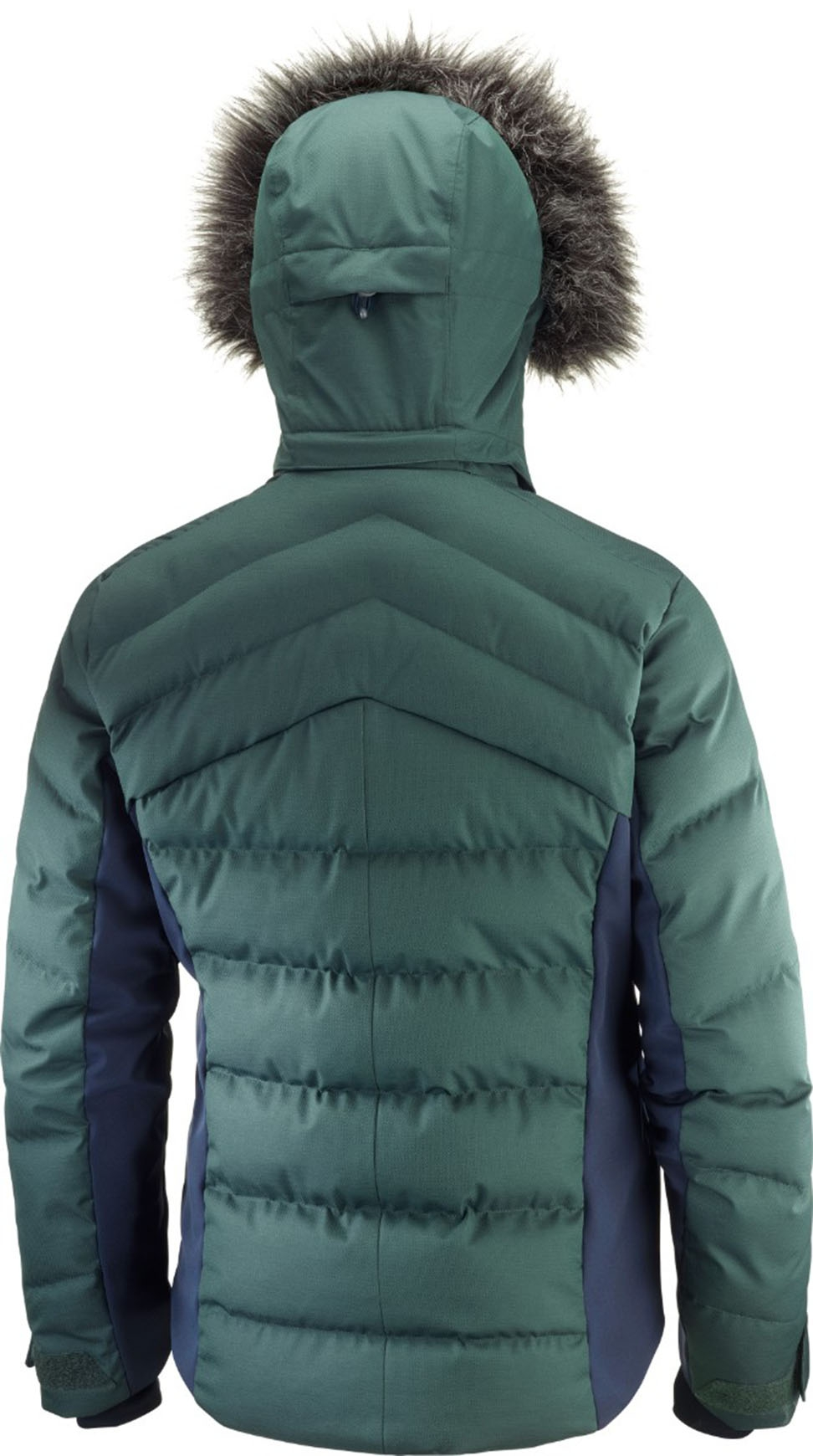 Salomon Stormcozy Jacket W Green GablesNight Sky