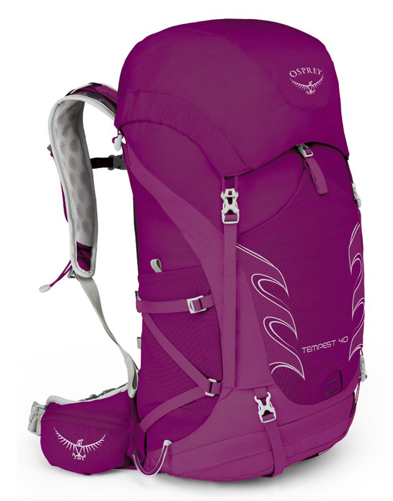 4dcb39d7a7 Tempest 40 Mystic Magenta Osprey : Sacs à dos trekking : Snowleader