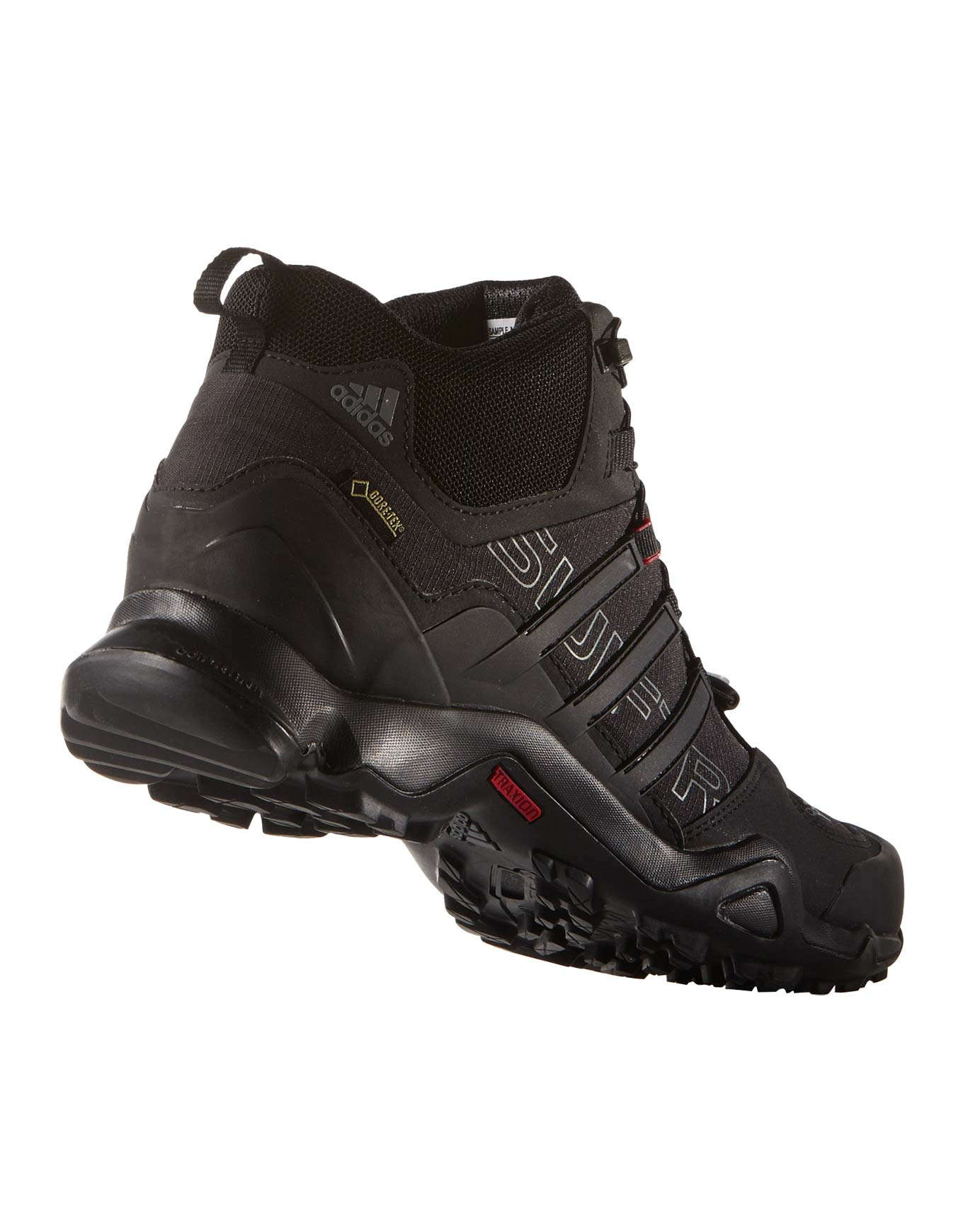 b0a710ae8 Terrex Swift R Mid GTX Core black Vista Grey Power red adidas terrex ...