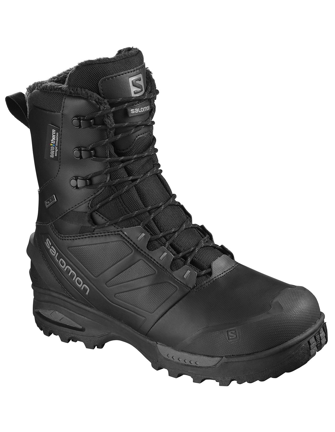 Chaussures de marche Salomon Toundra Pro CS WP noir