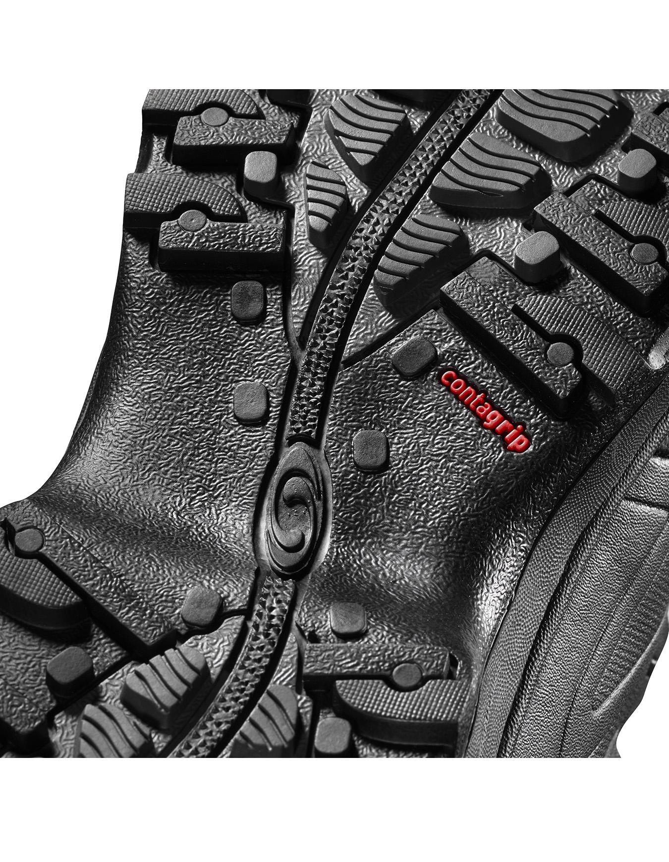 Salomon Toundra Pro CSWP Black/Black/Magnet : Men's Winter Walking Boots : Snowleader