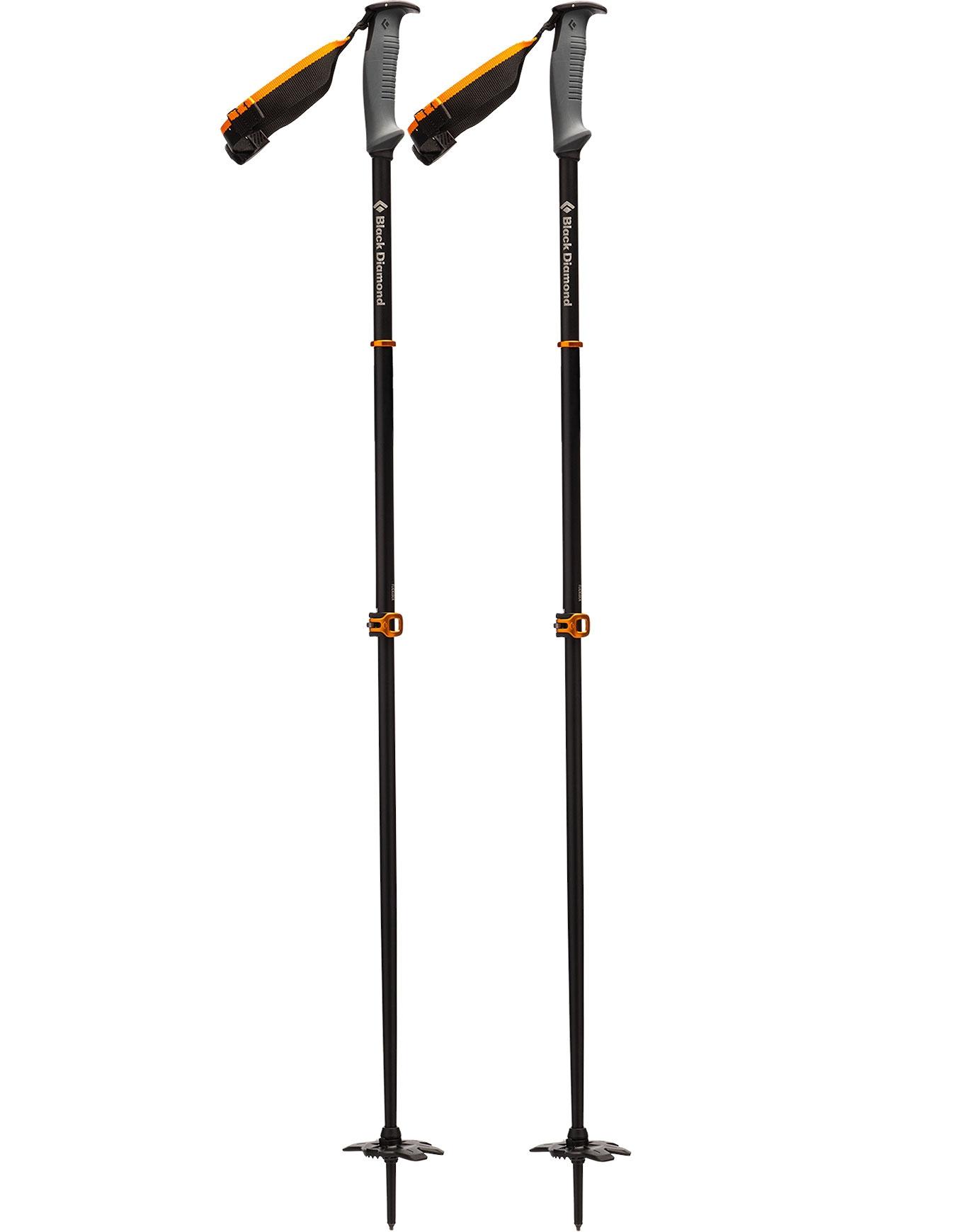 Black Diamond Traverse Ski Poles Mixte