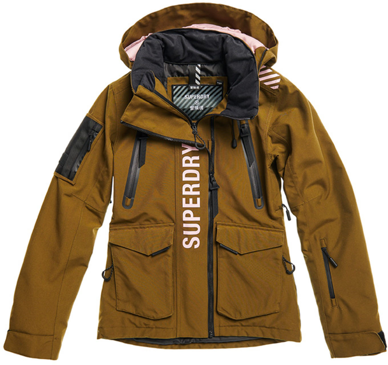 Superdry Ultimate Rescue Jacket W Dusty Olive Ski Jackets Snowleader