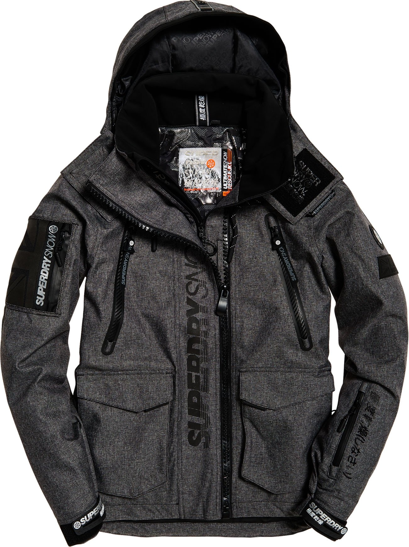Ultimate Snow Rescue Jacket M Black Tex Rock