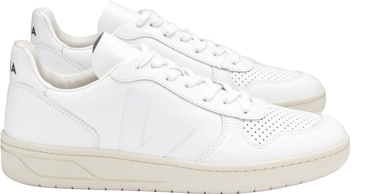 paño eliminar Trascender  V10 Leather Extra White Veja : Zapatillas/sneakers : Snowleader