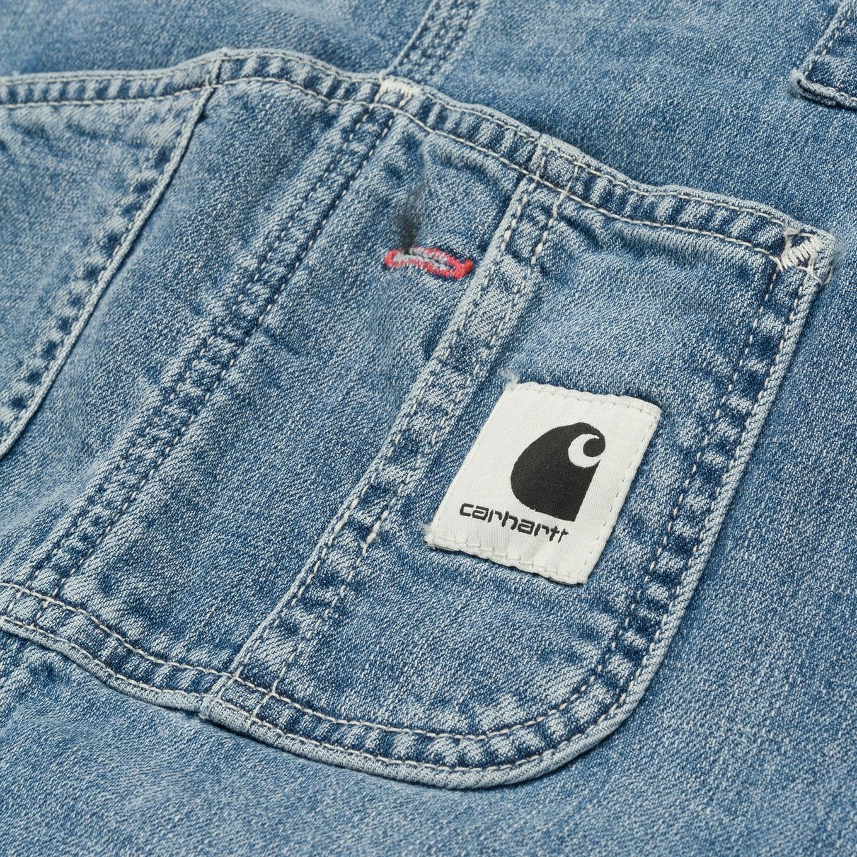 Pantalons Overall W Stone Carhartt Light Blue Wip Bib Washed TH18q6