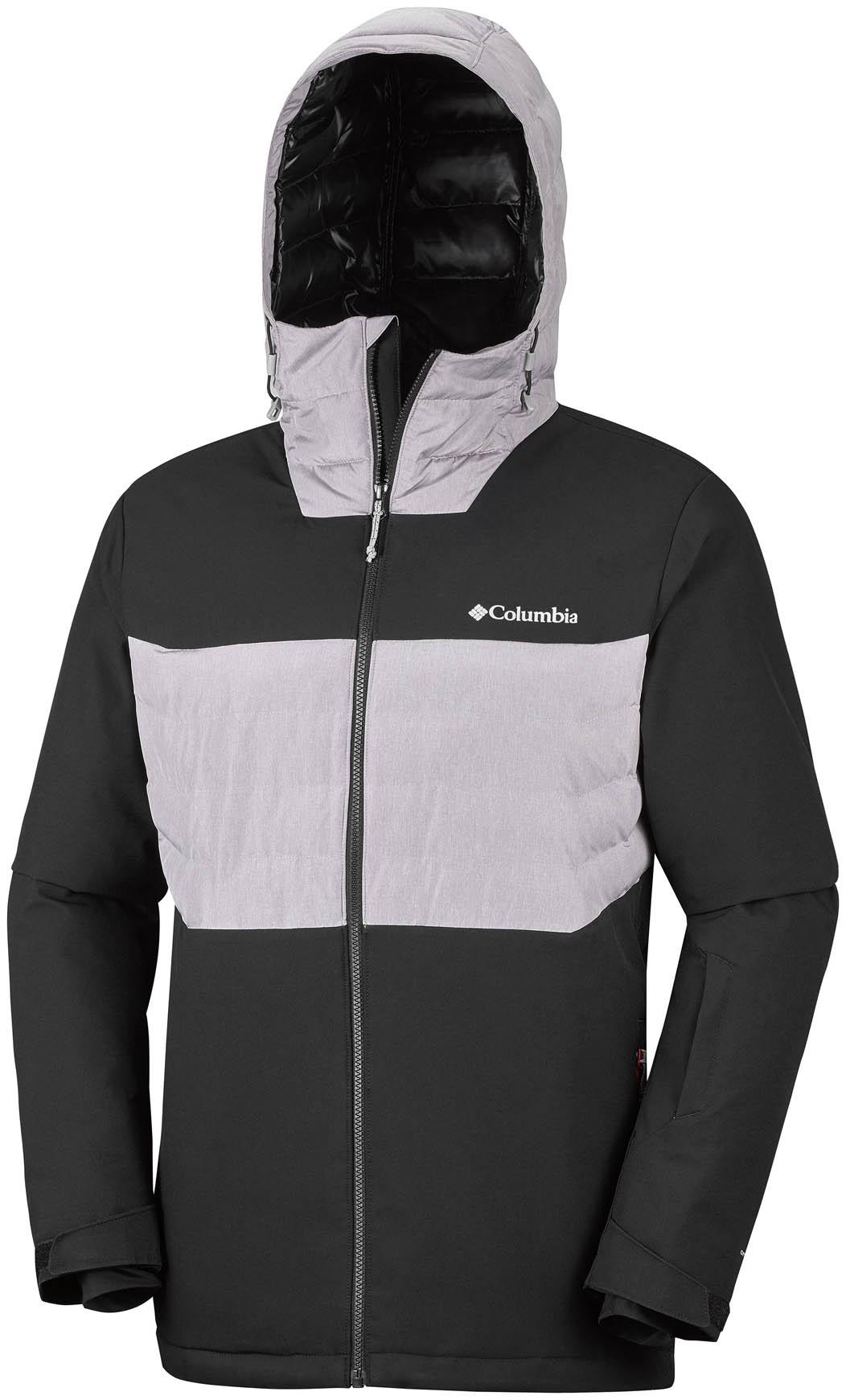 Ski Vestes M Columbia Jacket Hybrid Horizon Blackastral White wxO074q7