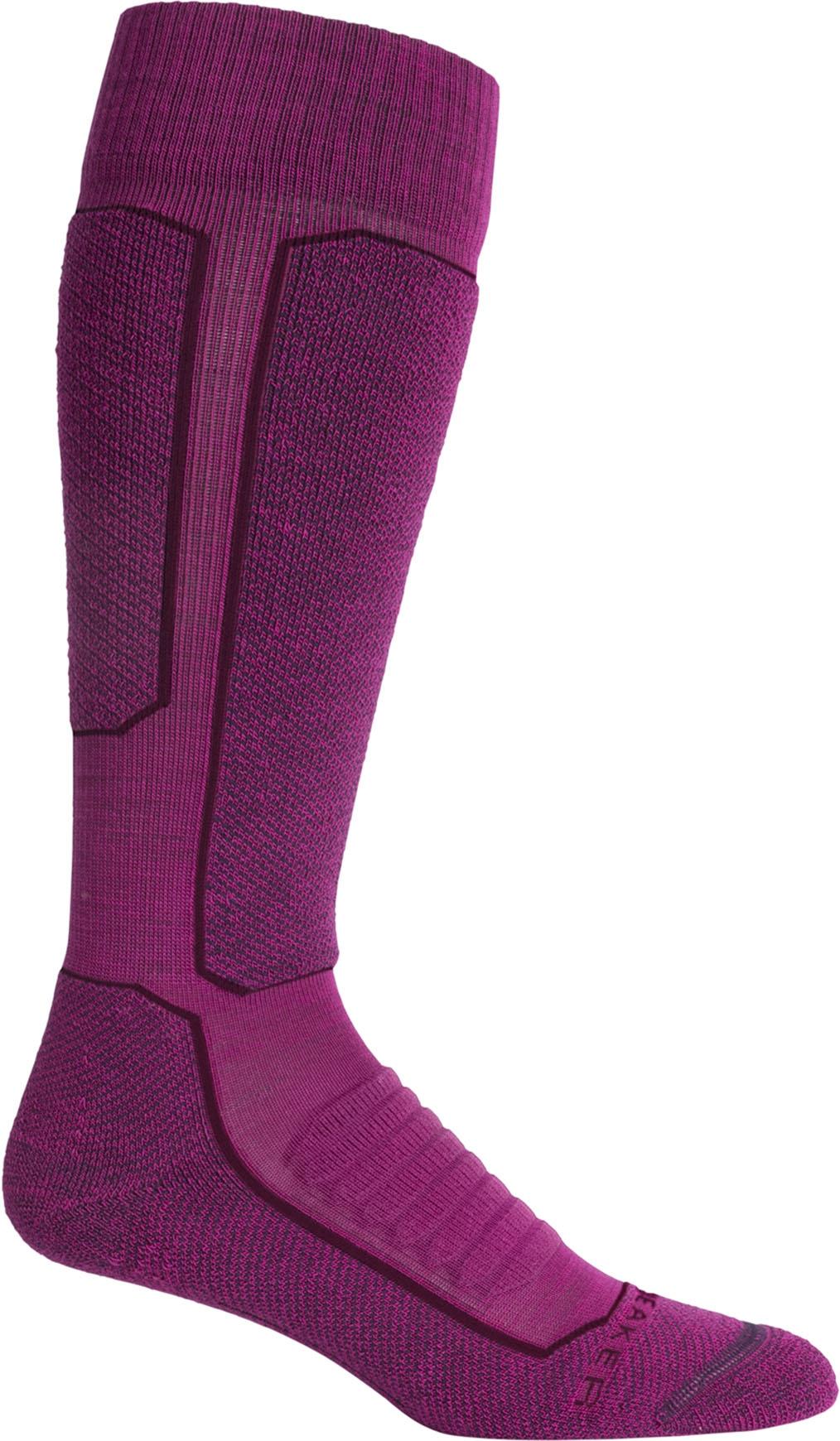 Medium Amore//Lotus Icebreaker Merino Womens Ski Medium OTC Socks