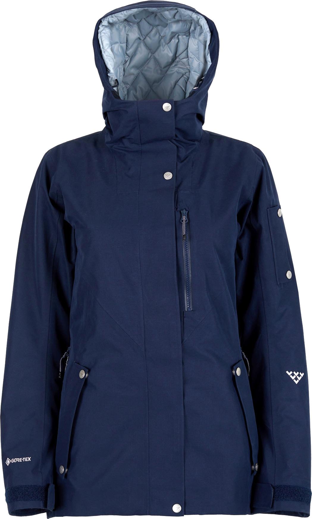 Women Corpus Insulated Gore Tex Jacket Dark Blue