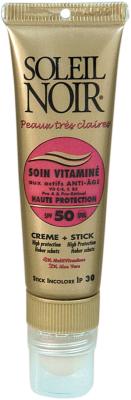 Combi Soin Vitaminé 50 & Stick SPF30