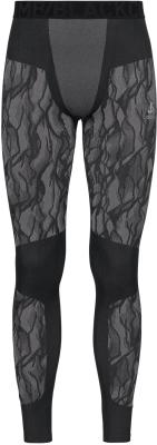 Collant Blackcomb Black/Odlo Steel Grey/Silver