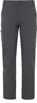 W Exploration Convertible Pant Asphalt Grey
