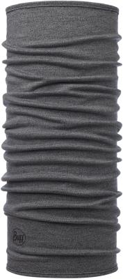 Midweight Merino Wool Light Grey Melange