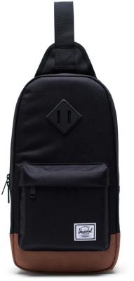 Heritage Shoulder Bag Black