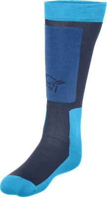 Lofoten Mid Weight Merino Socks Long Ocean Swell