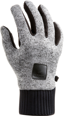 Wooly Grip 3 Gloves Drizzle Grey