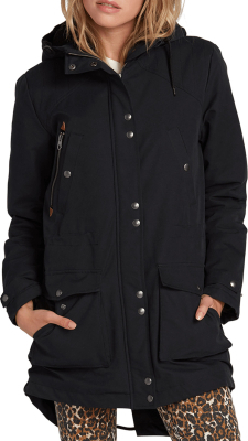 Walk On By Parka Black