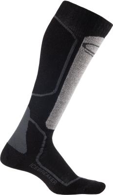 Socks Ski+ Lite OTC W Oil/Black/Silver