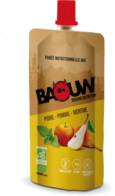 Purée bio 63g Baouw Poire-Pomme-Menthe