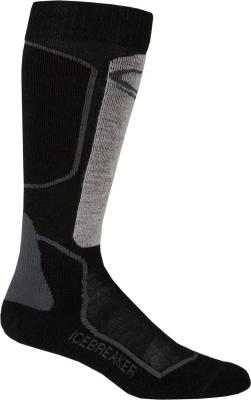 Socks Ski+ Lite M Oil/Black/Silver