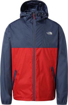 M Cyclone Jacket Vintage Indigo/Rococco Red