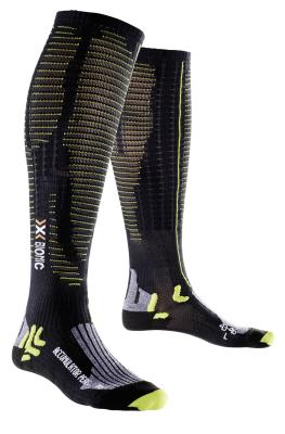 Socks Accumulator Performance Black/Lime