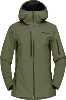 Lofoten Gore-Tex Insulated Jacket W's Olive Night