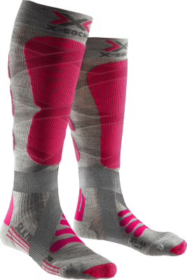 Ski Silk Merino 4.0 Lady Gris/Rose