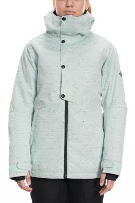 Wms Rumor Insulated Jacket Crystal Green Slub