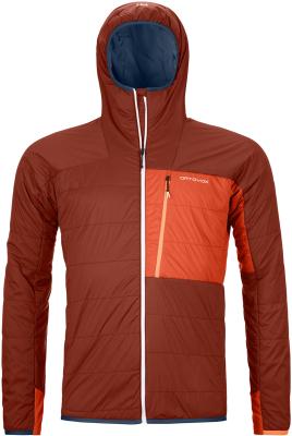 Swisswool Piz Duan Jacket M Clay Orange