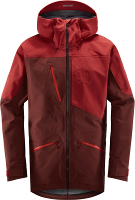 Nengal 3L PROOF Parka Men Maroon Red/Brick Red