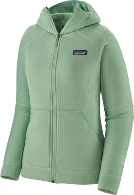 W's R1 Full-Zip Hoody Gypsum Green