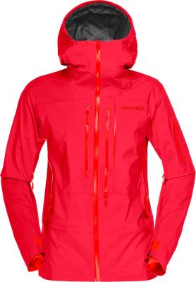 70552988e6 Norrona Lofoten Gore-Tex Pro Jacket (W) Rebel Red : Skijacken ...