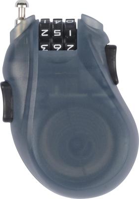 Cable Lock Translucent Black